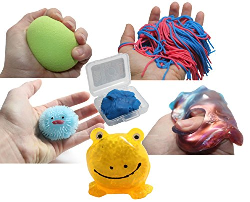 Sensory Bundle #4 - Tactile Toy Assortment Bundle for Sensory Processing Disorder Sensory Integration Therapy