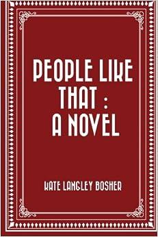 Book People Like That : A Novel
