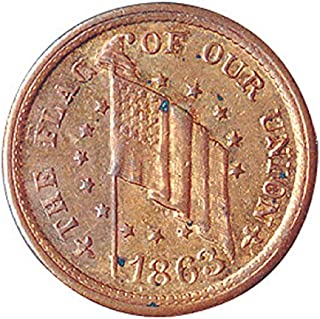product image for American Coin Treasures Genuine Historical Civil War Token