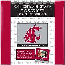 CRG C.R. Gibson Scrapbook Complete Kit, Large, Washington State University (ST12PD-8727C)