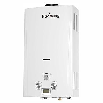 Calentador de agua a gas capacidad