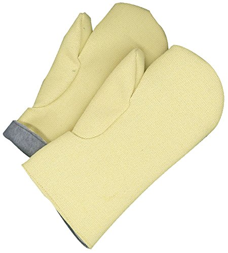 Bob Dale Gloves 639740KV14 Hi Heat Kevlar Gauntlet Mitt Melton Lining 14'', by Bob Dale Gloves