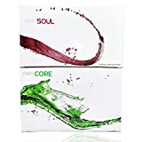 Rain CORE and SOUL Bundle Pack, Seed-based Nutritional Supplement, All Natural Ingredient, Energy and Health Booster, 1 Box each