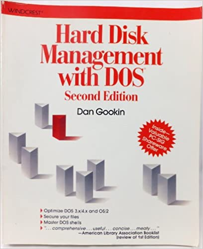 Hard Disk Management with DOS