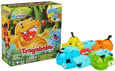 Hasbro Gaming - Tragabolas, juego de mesa (Hasbro 98936175 ...