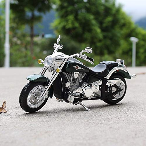 Amazon.com: Greensun escala 1:18 Kawasaki Vulcan Moto Race ...