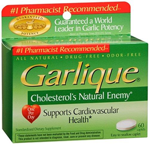 Garlique Caplets 60 Tablets Pack of 6