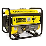 Champion Power Equipment 42436 1500-Watt Portable Generator, CARB Compliant