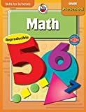 Math Grade Preschool, Carson-Dellosa Publishing Staff, 0769652298