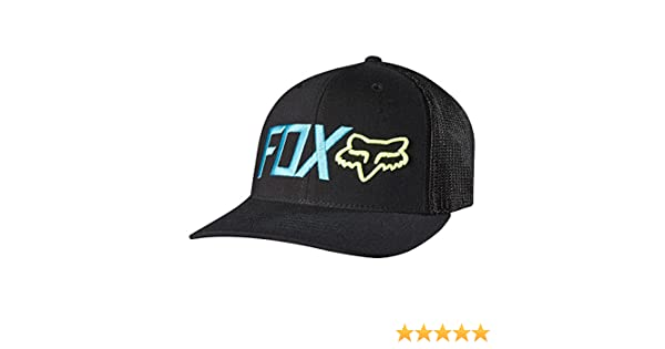 008cfb4437156 ... get amazon fox racing mens warmup flexfit hat large x large black  clothing c890f 5e1c5