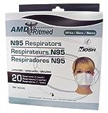 MEDICOM N95マスク AM42-2320-20【1箱(20枚入)】〔ウィルス・PM2.5 対策〕