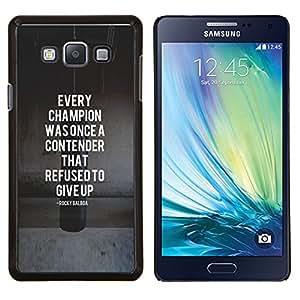 Dragon Case - FOR Samsung Galaxy A7 - champion contender boxing fighting - Caja protectora de pl??stico duro de la cubierta Dise?¡Ào Slim Fit