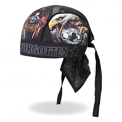 Hot Leathers Authentic Bikers Premium Headwraps, BORN FREE EAGLE POW,
