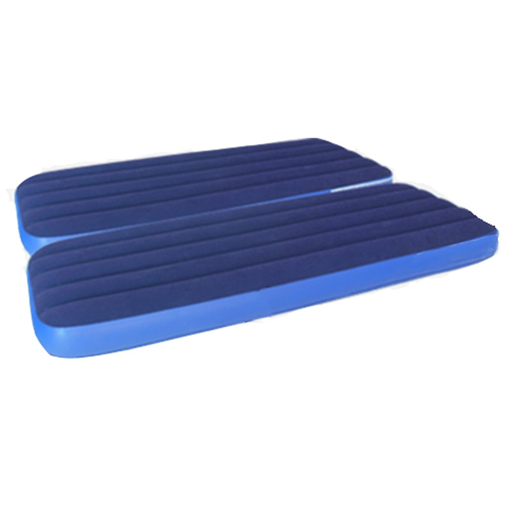 HPLL Aufblasbares Bett-einzelnes doppeltes Mittagspause-aufblasbares Bett-im Freien, das gepolstertes aufblasbares Bett-bequemes breathable aufblasbares Bett zusammenbucht, das einfach ist, Luftbett zu säubern ( größe : 18815218CM )