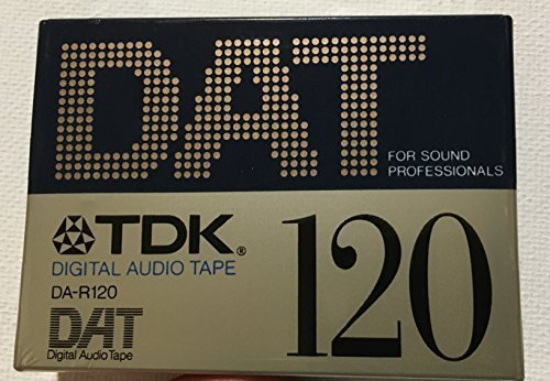 TDK Digital Audio Tape DA-R9120 DAT