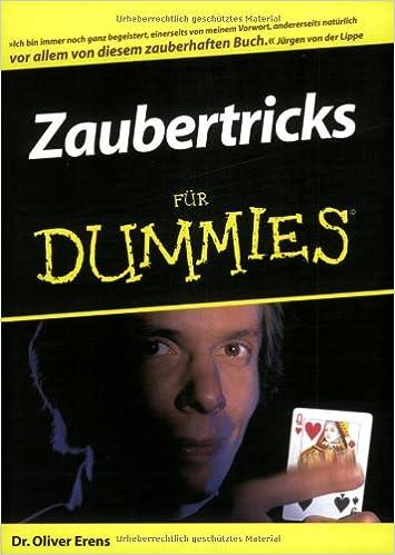 Zaubertricks für Dummies (German Edition)