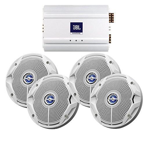 Jbl MS6520-X2-MA6004 MS6520 Speakers & MA6004 AMP