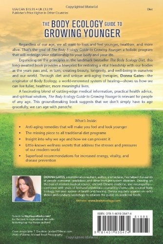 51WIHgHwX5L - The Body Ecology Guide To Growing Younger: Anti-Aging Wisdom for Every Generation