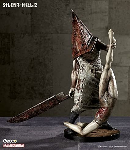 Amazon.com: Silent Hill 2 / Red Pyramid Thing 1/6 Scale PVC ...