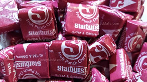 Starburst Fave Reds - Fruit Punch Starburst 2 Pounds by CandyMafia
