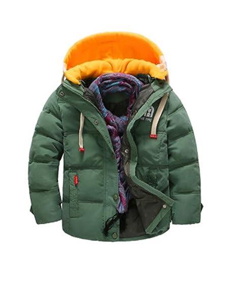 81d5c1379 Amazon.com  Phorecys Boy s Girl s Winter Hooded Down Coat Jacket ...