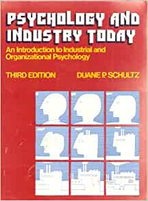 introduction to industrial organizational psychology pdf