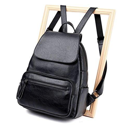 Mefly Mochila De Viaje Para Estudiantes De Moda Bolsa Bolsa De Viento De Color  Bronce black ...
