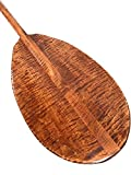 Decorative Hawaiian Outrigger Paddle 50'' w/ T Handle - Maple | #koa6081