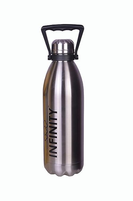 infinity if-1500ml Campus Chorme 50 oz botella de agua de ...