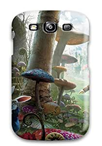WLniPxj1688dHHjL Anti-scratch Case Cover ChrisPeters Protective Alice In Wonderland Case For Galaxy S3