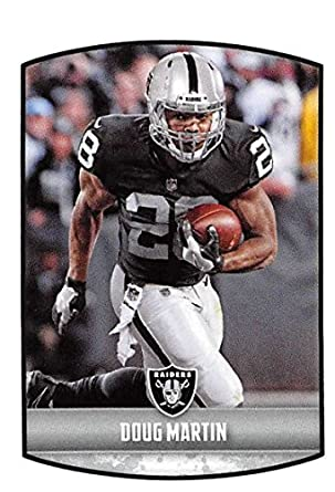 2018 Panini NFL Stickers Collection  221 Doug Martin Oakland Raiders  Official Football Sticker 736930b33