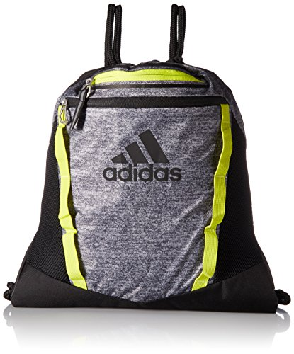 adidas Rumble II Sackpack, Onix Jersey/Black/Semi Solar Yellow, One ()