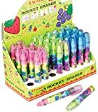 Scent Rocket Erasers - 36 pieces Case Pack 3 Computers, Electronics, Office Supplies, Computing