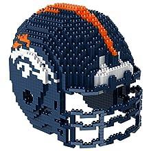 Denver Broncos NFL 3D BRXLZ Construction Toy Blocks Set - Helmet