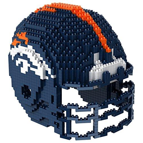 (Denver Broncos 3D Brxlz - Helmet)