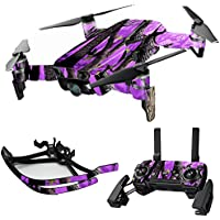 MightySkins Skin for DJI Mavic Air Drone - Purple Tree Camo   Max Combo Protective, Durable, and Unique Vinyl Decal wrap cover   Easy To Apply, Remove, and Change Styles   Made in the USA