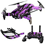 Cheap MightySkins Skin for DJI Max Coverage – Purple Tree Camo | Protective, Durable, and Unique Vinyl Decal wrap Cover | Easy to Apply, Remove, and Change Styles | Made in The USA