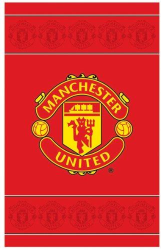 Linenideas Manchester United Fc Football Official Rug by Linenideas
