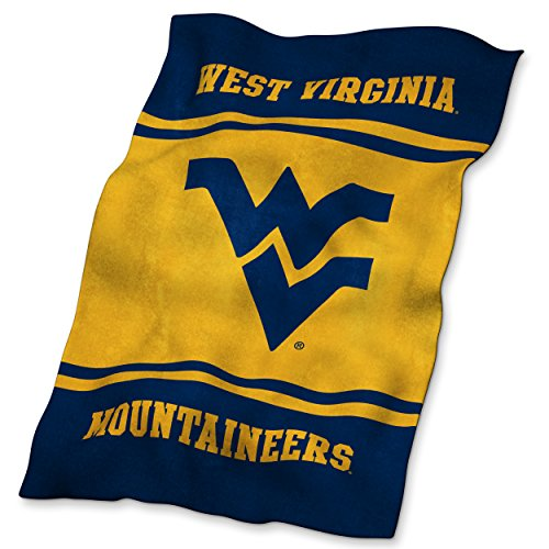 - NCAA West Virginia Ultrasoft Blanket