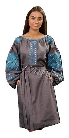 b70b430b335 Modern Designed Women s Ukrainian National Dress - Vyshyvanka - with Real  Embroidery.