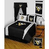 NHL Pittsburgh Penguins-Sports Comforter Set-Twin Boys Hocke