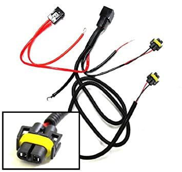 amazon com ijdmtoy h11 880 890 relay wiring harness for hid ijdmtoy h11 880 890 relay wiring harness for hid conversion kit add on fog