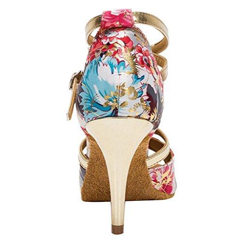 Wk010 Cm Pour Femmes Or talon 8 Chaussures De Latine Les Hxyoo Salon 5 Danse Slasa D'intérieur 4xaUvwyZq