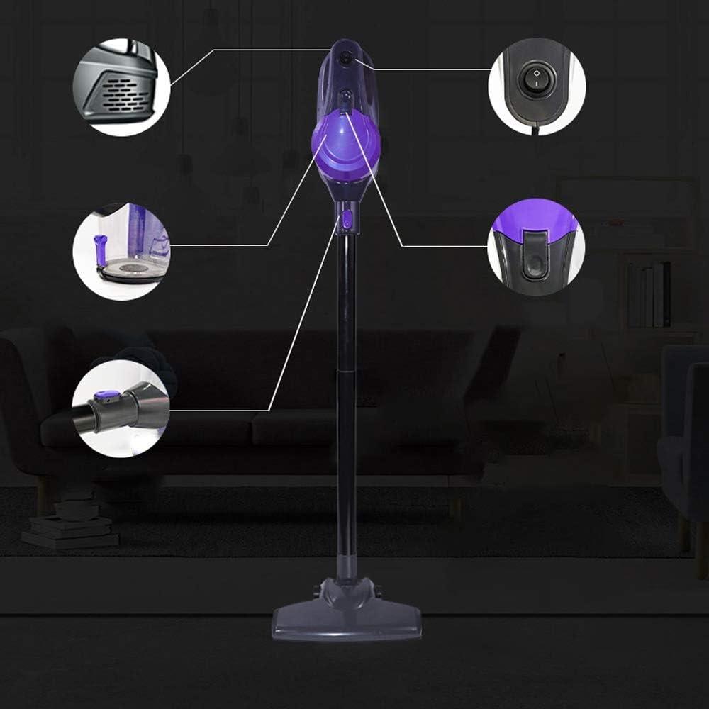 JU FU Aspirateur - portatif léger grande aspiration multi-fonction multi-filtre violet aspirateur lavable, 110X20cm Outils de nettoyage @@ (Color : Purple) Purple