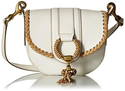 FRYE Ilana Leather Wrapped Small Saddle Bag