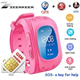 Kids Smart Watch GPS/LBS Positioning, Kids Watches Real Time GPS Positioning Security Guarantor