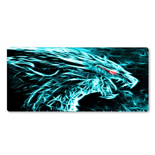 Red Dragon mouse pad game team super cool game play pad laptop keyboard mouse pad for players