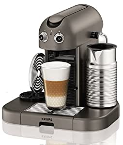 Nespresso XN8105 Cafetera Capsula Krups Xn8105p4 Gran Maestria Titani, 2300 W, plástico