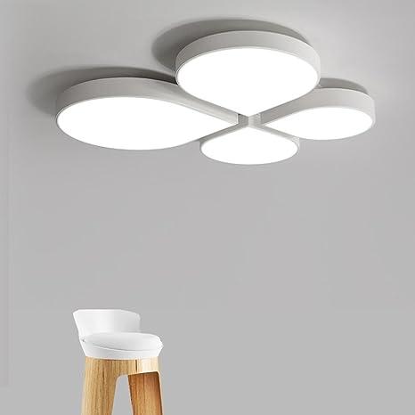 LED Luces de techo Blanco Dibujos animados Flor y Hojas ...