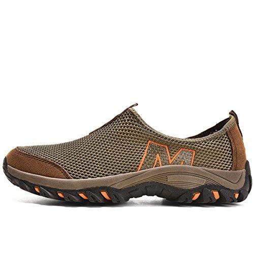 On Casual Sneakers Braun Sneakers Schuhe Slip Müßiggänger VECJUNIA Schuhe Herren w5zYBqzt
